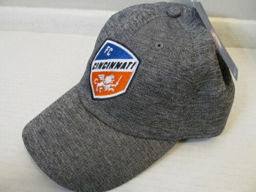 MLS Soccer FC Cincinnati Cap Hat, One Size, Gray