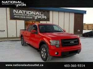2013 Ford F-150 FX4|Heated Cooled Seats|Clean carproof|1 Owner
