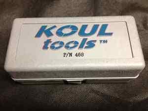 Koul Tool Medium # 468 -4 -6 -8 AN Storage Case Fittings SS Braided Hose