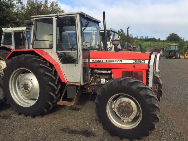 Tractor Lights 1990 : Massey ferguson wd tractor c w duncan low