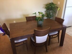 Great Wooden Kitchen Table- Ideal to refinish! Asking $120 OBO