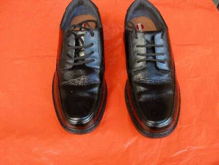 HUSH PUPPIES TORPEDO MENS SHOES - LACE UP SIZE 8 BLACK Lane Cove Lane Cove Area Preview