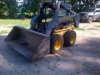 New holland ls 170 skid steer bobcat  new tires, ready for work