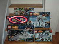 Gros Lot 5 Lego Star Wars Neufs scellés