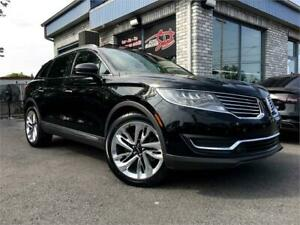 2016 Lincoln MKX Reserve AWD MAGS 21 POUCES 2.7L V6 ECOBOOST GPS