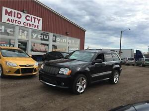 2010 Jeep Grand Cherokee SRT8 , low km , fully loaded, Leather