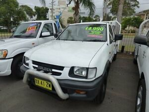 2000 Holden Rodeo TF R9 LX White 5 Speed Manual Cab Chassis Cabramatta Fairfield Area Preview