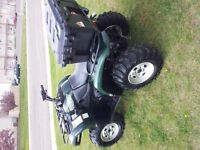GRIZZLY 660, ATV, QUAD EXCELLANT CONDITION AND TRAIL READY