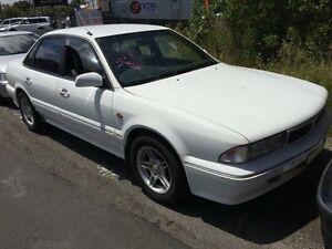 1995 Mitsubishi Magna TS Executive White 5 Speed Manual Sedan Jewells Lake Macquarie Area Preview