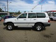 1999 Toyota Landcruiser FZJ105R GXL (4x4) White 5 Speed Manual 4x4 Wagon Gepps Cross Port Adelaide Area Preview
