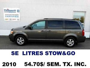 2010 Dodge GRAND CARAVAN SE STOW&GO 7 PASSAGERS