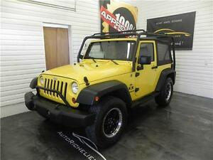 JEEP WRANGLER X TRAIL RATED 4X4 2008
