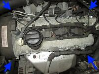 Audi a2 1.6 FSI BAD code engine GSK gearbox complete inlet manifold 54k miles