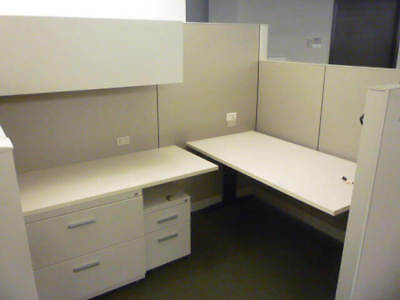 Used Office Cubicles Steelcase Answer 7.5x5.5 Cubicles