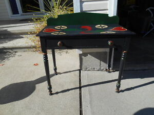PAINTED PINE 1900s TABLE/DESK