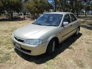 2000 Mazda 323 Protege Shades Champagne Silver 4 Speed Automatic Sedan Albert Park Charles Sturt Area Preview