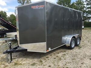 7x14 Enclosed Cargo Trailer Kitchener / Waterloo Kitchener Area image 5