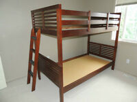 Wood Bunk Bed