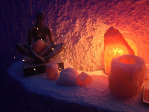 Stress Management Series in the Crystal Salt Cave