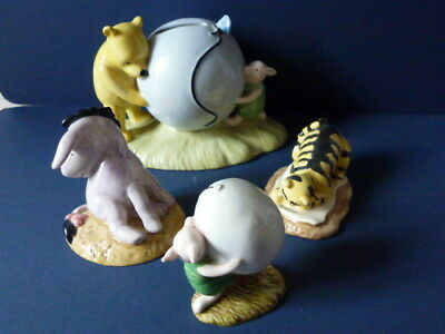Royal Doulton Winnie the Pooh Moneybox,Piglet  Eyeore and, Tigger