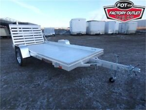 6812H Utility Trailer by Aluma - 3,500# Torsion Axle! -*ALL IN*-
