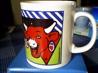 THE LAUGHING COW CHEESE SPREAD COLLECTOR MUG - UNUSED