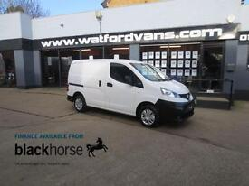 2013 Nissan NV200 1.5DCi SE 89ps 20,000miles E/Pack Twin SLD Diesel white Manual