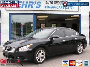 2013 Nissan Maxima 3.5 SV | No Accident | Leather | Mint Cond