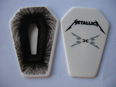 Metallica Large Coffin Guitar Pick -2009 death magnetic tour