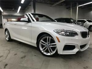 BMW 228I XDRIVE CONVERTIBLE 2015/ CUIR / NAVI / CAMERA / 81600KM