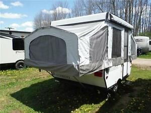 2013 Palomino 8CLS 8' Tent Trailer - Sleeps 5- Only 1273LBS!!! Stratford Kitchener Area image 3