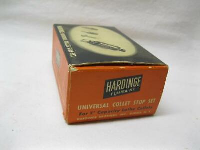 Hardinge Bros Elmira Universal Collet Stop Set Tool One Inch Lathe Vtg Old Part