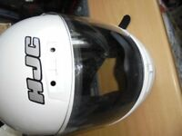 ZF7 HJC - White Gloss Flip Lid with Bag - Good Cond.