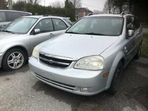 2007 CHEVROLET OPTRA STATION WAGON|LOW KMS|POWER GROUP|AUTOMATIC