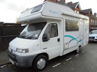 5 Berth Autohomes Wayfarer 2000 Model For Sale