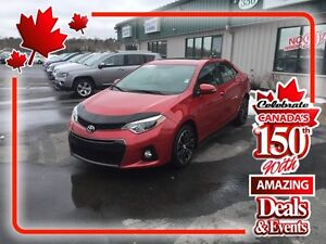2014 Toyota Corolla S ( CANADA DAY SALE!) NOW $16,950