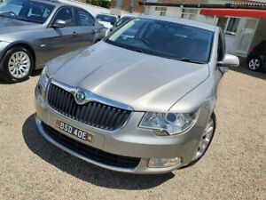 2011 Skoda Superb 3T MY12 Ambition DSG 103TDI Silver 6 Speed Sports Automatic Dual Clutch Sedan Sylvania Sutherland Area Preview