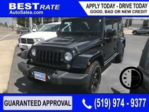 JEEP WRANGLER - APPROVED IN 30 MINUTES - REBUILD YOUR CREDIT!
