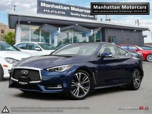 2017 INFINITI Q60 AWD COUPE 3.0T |NAV|CAMERA|ROOF|1OWNER|WARRATY