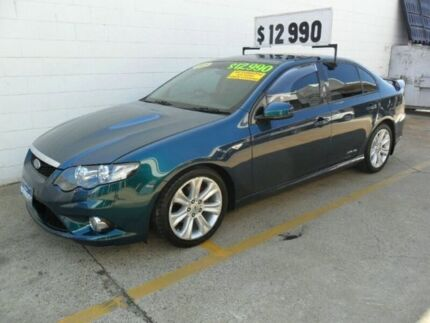 2009 Ford Falcon FG XR6 Green 6 Speed Sports Automatic Sedan Kippa-ring Redcliffe Area Preview