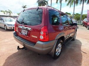 2005 Mazda Tribute MY2004 Classic Red 4 Speed Automatic Wagon Rosslea Townsville City Preview