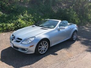 RARE 2006 MERDECES CONVERTIBLE SLK 350
