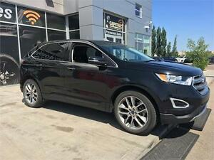 2015 FORD EDGE TITANIUM LOADED, LEATHER, FULL SUNROOF, NAV. !!