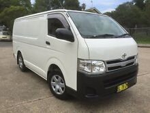 2011 Toyota Hiace KDH201R MY11 Upgrade LWB White 4 Speed Automatic Van Homebush West Strathfield Area Preview