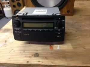 factory am/fm cd player for toyota corolla