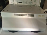"24"" range hood exhaust fan and light excellent working"