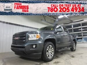 2016 Gmc Canyon 4WD SLE. Text 780-205-4934 for more information!