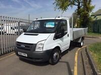 FORD TRANSIT 350 MWB TIPPER NEW BODY, White, Manual, Diesel, 2007