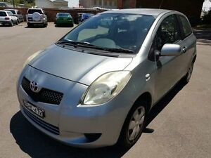 2008 Toyota Yaris NCP90R YR Silver 5 Speed Manual Hatchback Georgetown Newcastle Area Preview