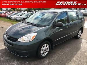 2005 Toyota Sienna! New Brakes! Keyless Entry! A/C! Rust Proofed